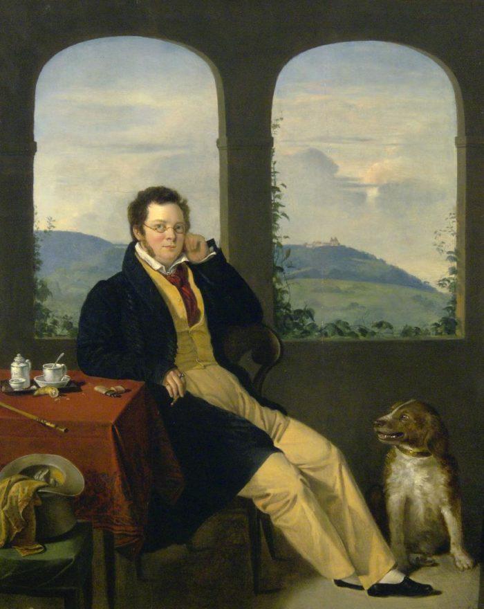 Melegh Gábor: Franz Schubert arcképe