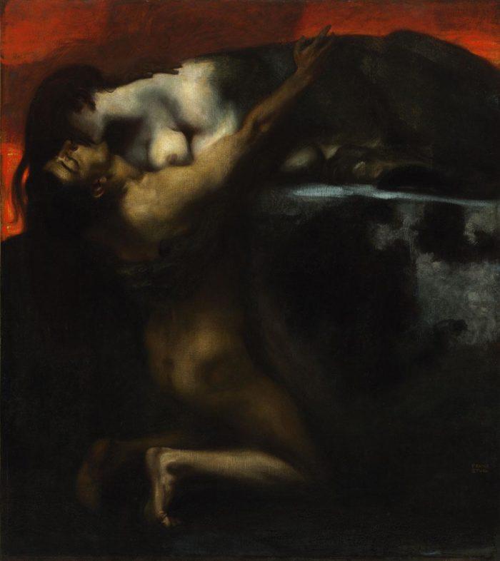Franz von Stuck: A Szfinx csókja