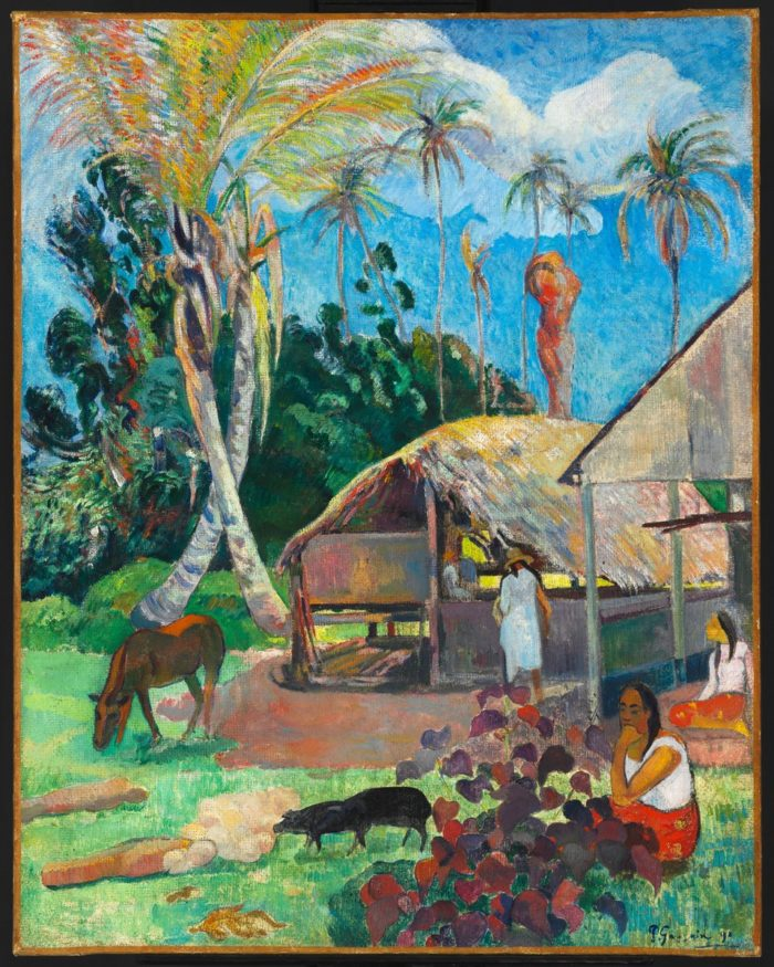 Paul Gauguin: Fekete sertések