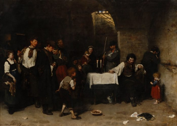 Munkácsy Mihály: Siralomház I. 1870