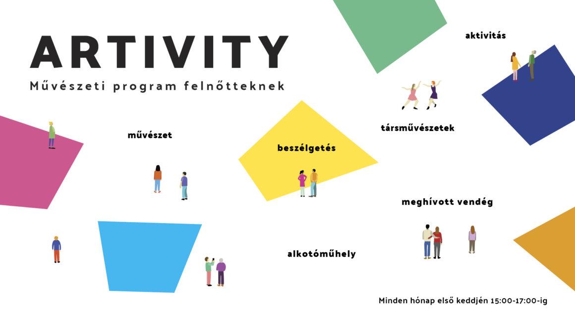 Művészeti program felnőtteknek-Artivity