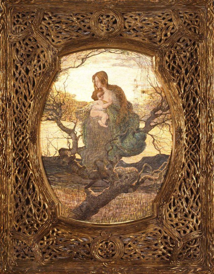 Giovanni Segantini: Az élet angyala, 1894