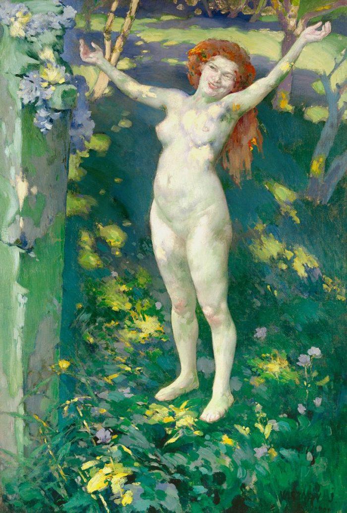 Vaszary János: A Tavasz visszatérése, 1899