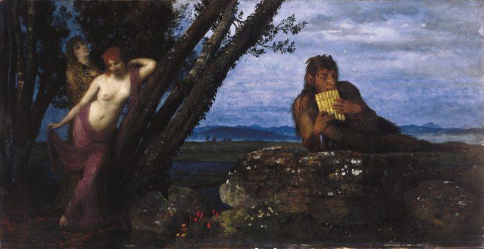 Arnold Böcklin: Tavaszi est, 1879