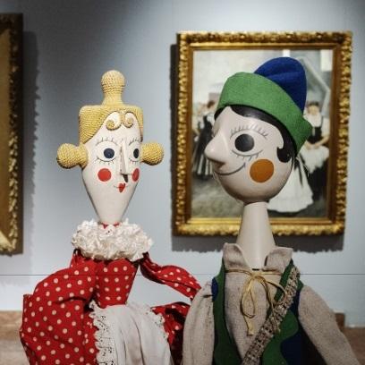 Egymásra hangolva – A Magyar Nemzeti Galéria és a hetvenéves Budapest Bábszínház gyűjteményének találkozása