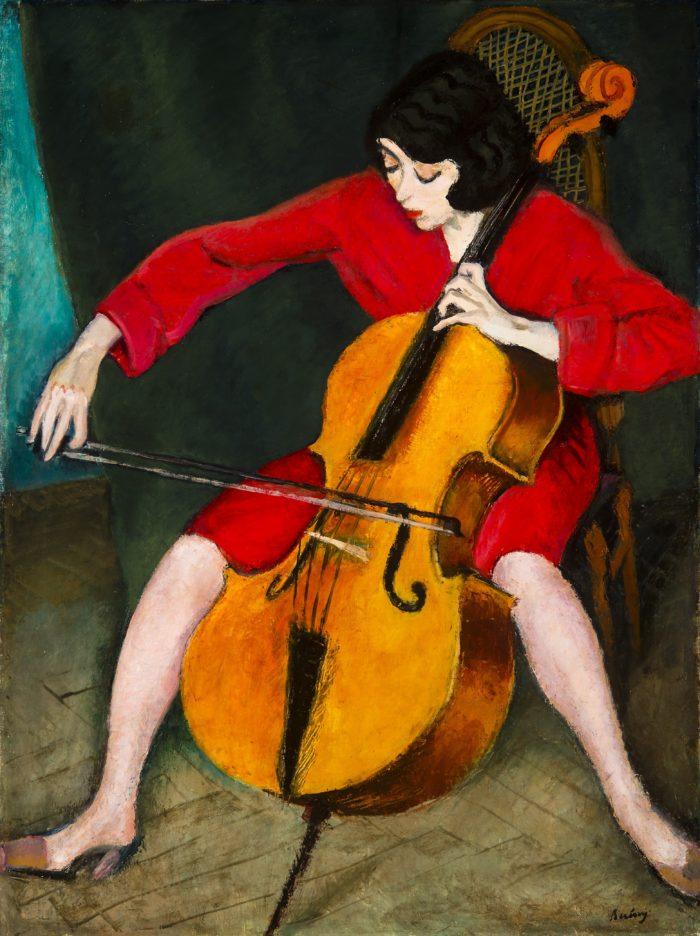 Berény Róbert: Csellózó nő, 1928