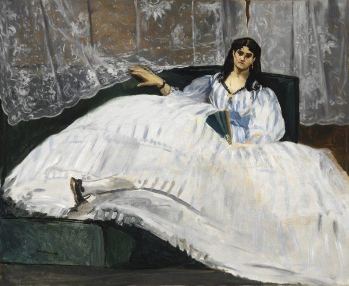 Édouard Manet: Hölgy legyezővel, 1862