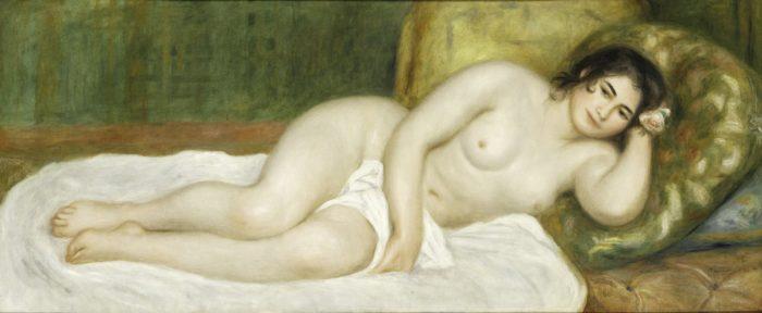 Pierre-Auguste Renoir: Fekvő női akt, 1903
