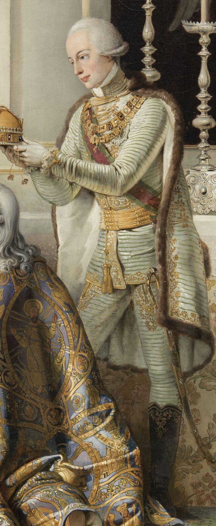 Peter Krafft: I. Ferenc megkoronázása, 1825 - Sándor Lipót főherceg díszmagyarja