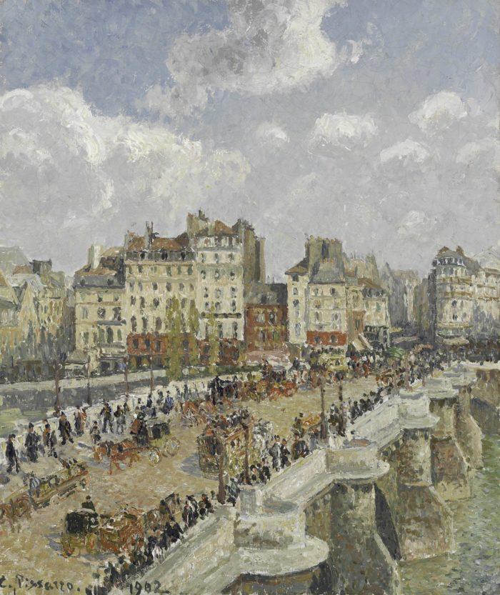 Camille Pissarro: A Pont-Neuf, 1902