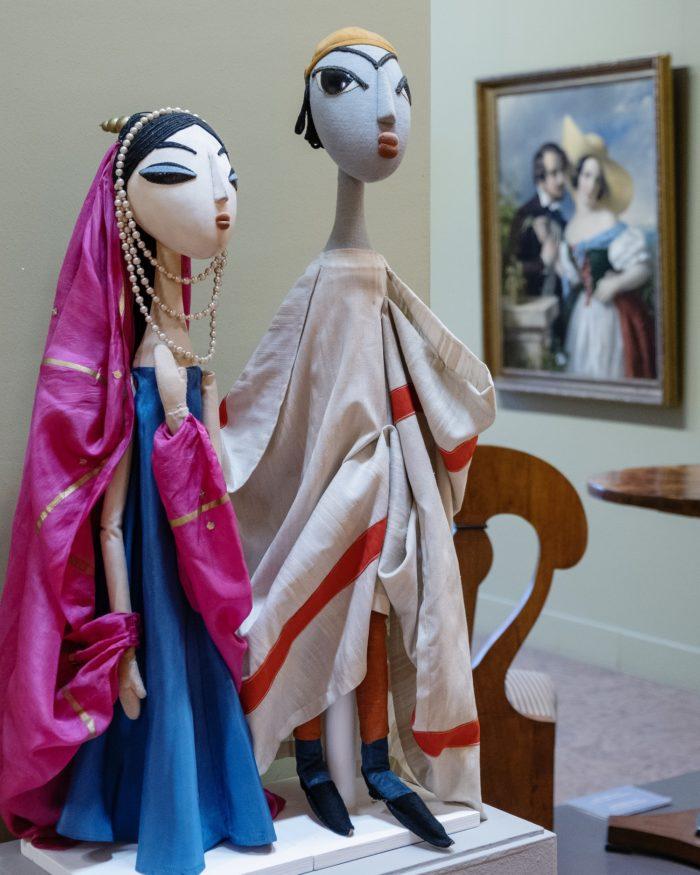 Nyina Gernet: Aladdin csodalámpája, 1940 - Bródy Vera bábjai: Aladdin és Budur hercegnő, 1960