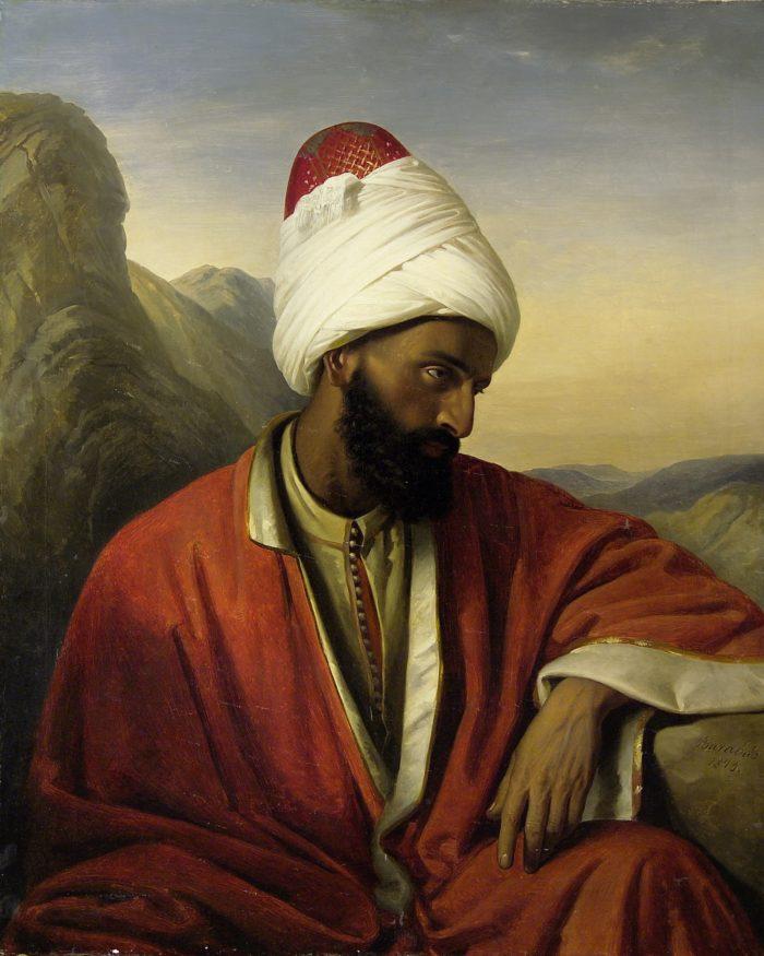 Nyina Gernet: Aladdin csodalámpája, 1940 - Barabás Miklós: Arab férfi, 1843