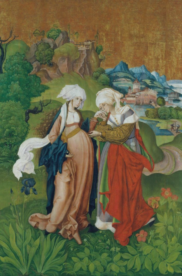 MS mester: Vizitáció (Mária látogatása Erzsébetnél), 1506