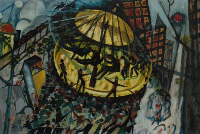 Scheiber Hugó: Vurstli, 1932 körül