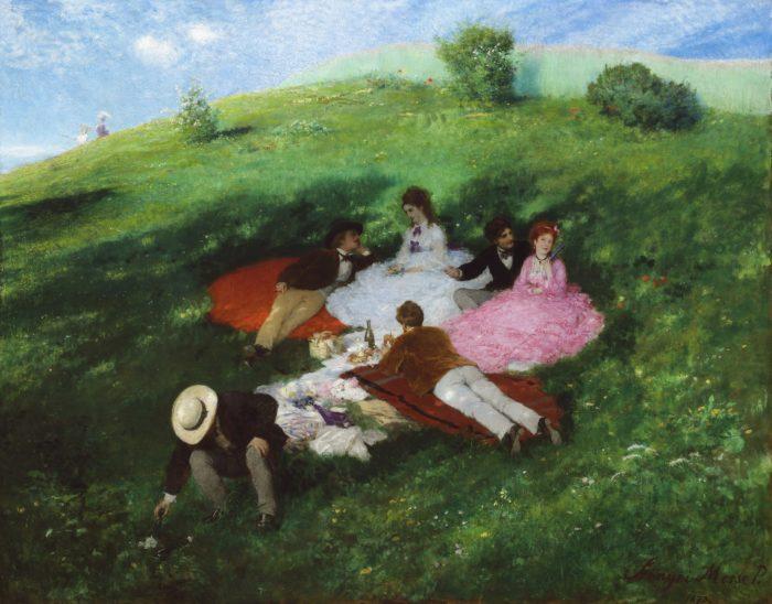 Szinyei Merse Pál: Majális, 1873