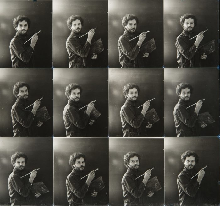 Birkás Ákos: Önarcképfestés kamerával, 1–12., 1977–1978