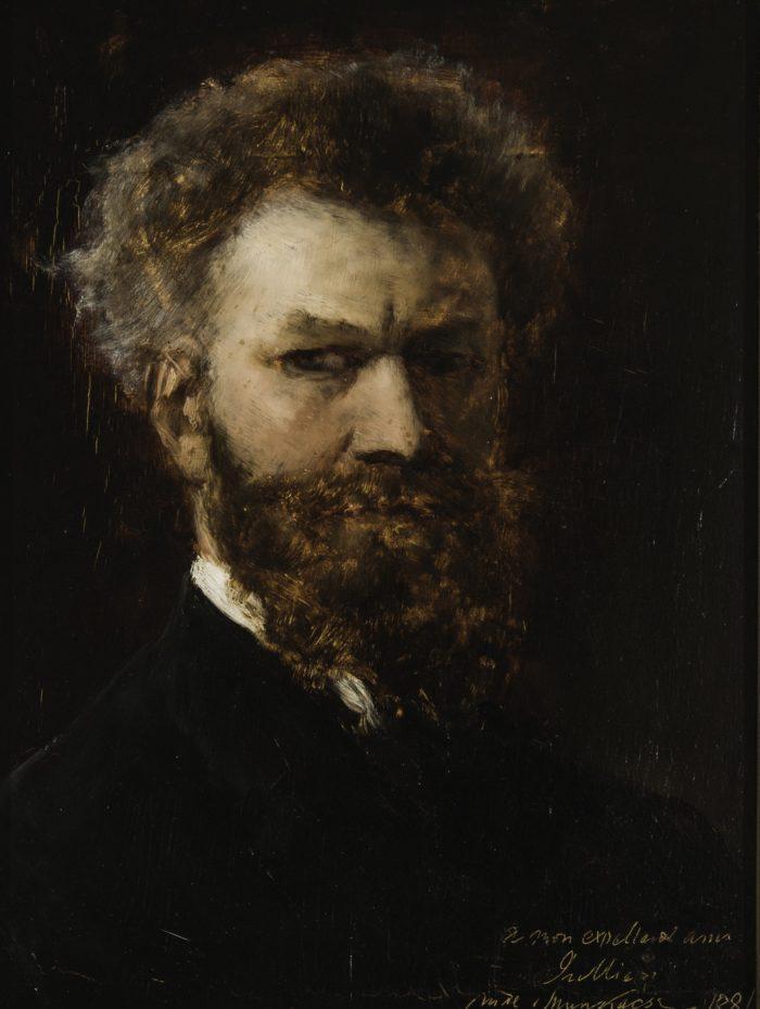 Munkácsy Mihály: Önarckép, 1881