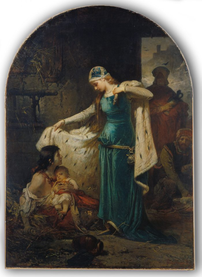 Liezen Mayer Sándor: Magyarországi Szent Erzsébet, 1882 - történik: az 1220-as években