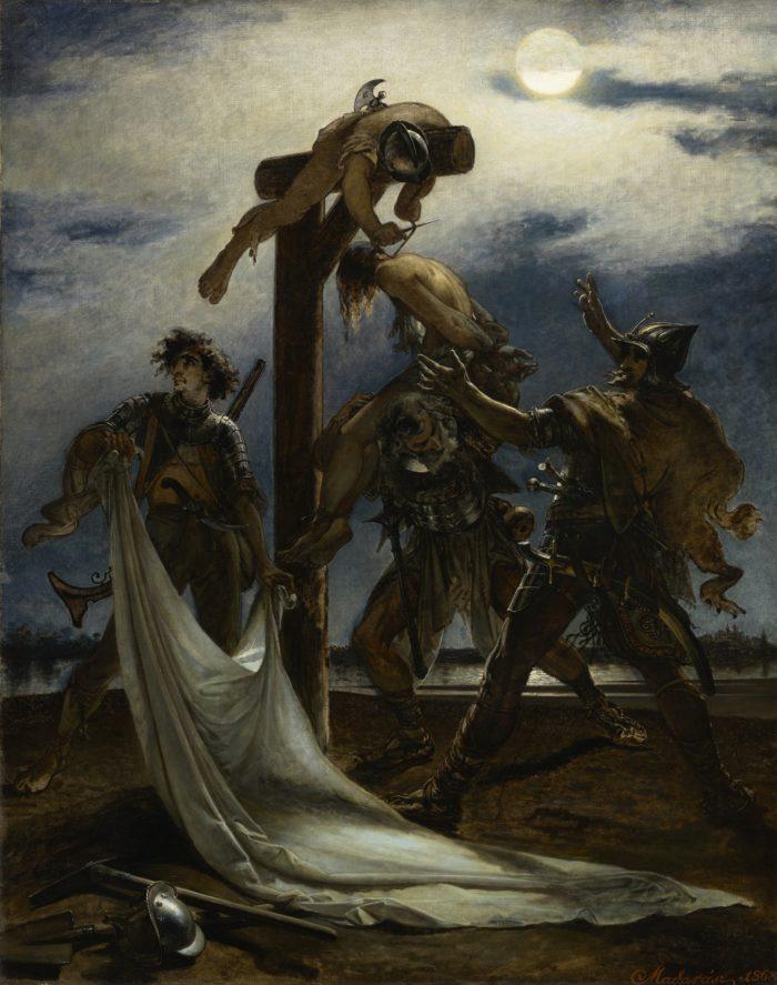 Madarász Viktor: Dózsa népe, 1868 - történik: 1514-ben