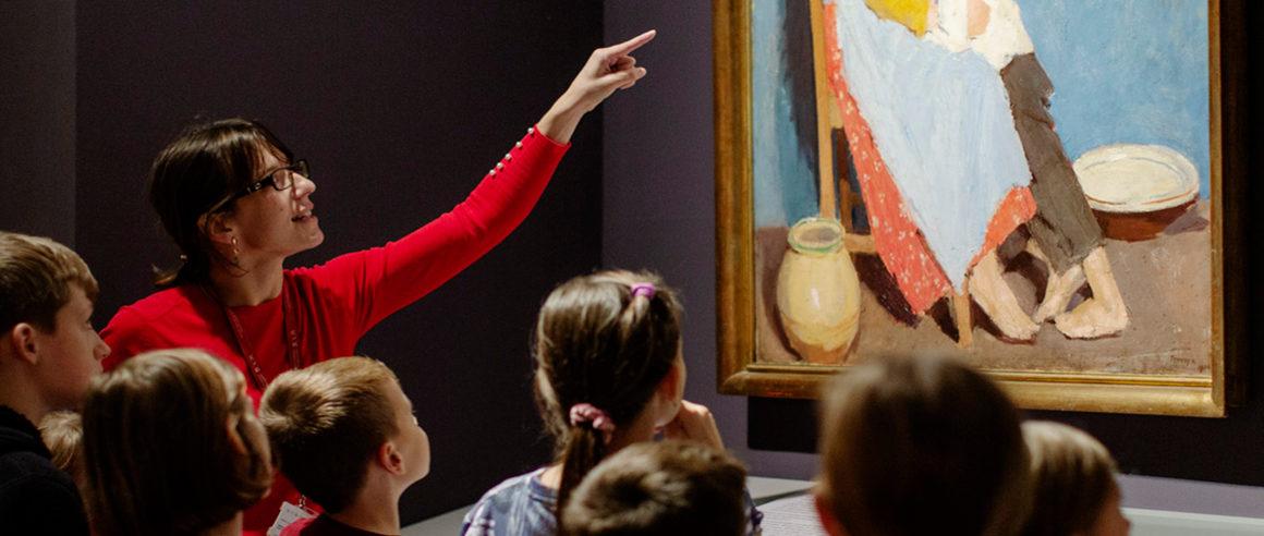 Festményekkel a világ körül – tárlatvezetés gyerekeknek