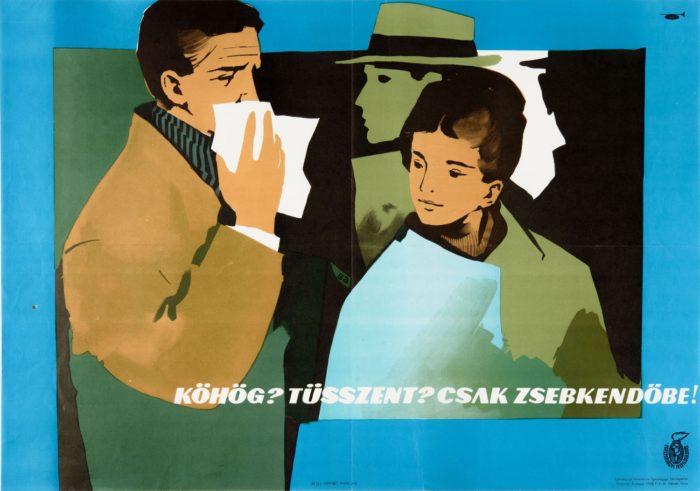 Gunda Antal: Köhög? Tüsszent? Csak zsebkendőbe! 1968