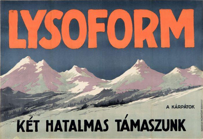 Ismeretlen: Lysoform, a Kárpátok, két hatalmas támaszunk, 1915