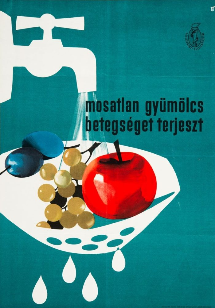 Gunda Antal: Mosatlan gyümölcs betegséget terjeszt, 1961