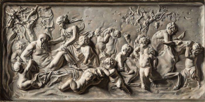 Marasztony József: Bacchánsok, 1855