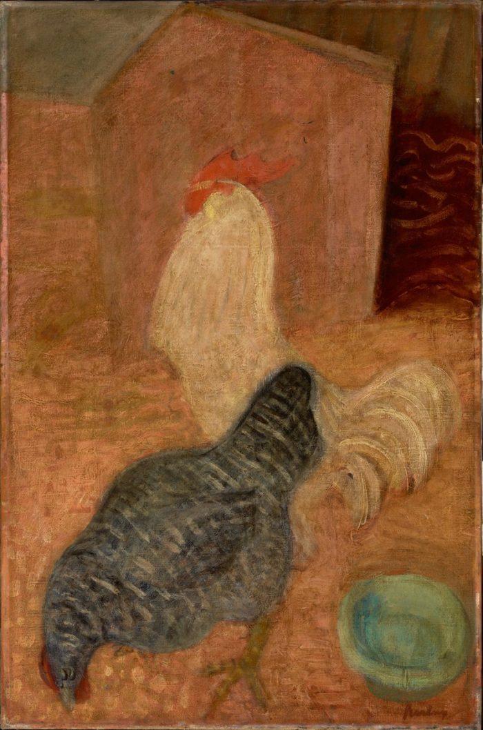 Berény Róbert: Kakas és tyúk, 1932