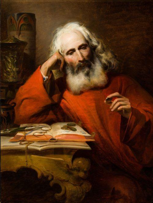 Heinrich Ede: A régiségbúvár, 1846
