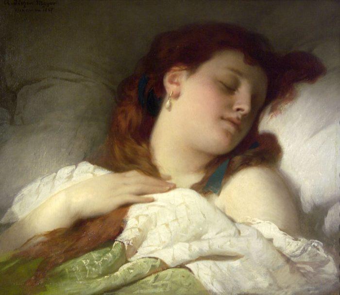 Liezen-Mayer Sándor: Alvó nő, 1867
