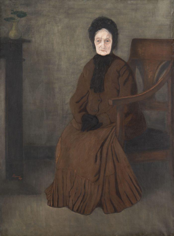 Rippl-Rónai József: Öreganyám, 1894
