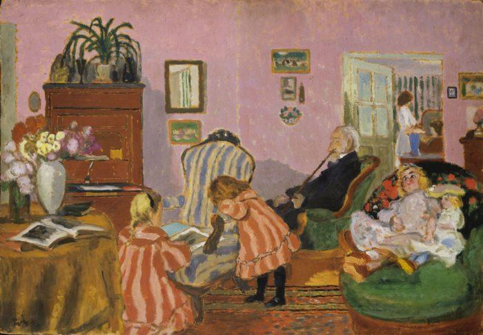 Rippl-Rónai József: Piacsek bácsi babákkal, 1905