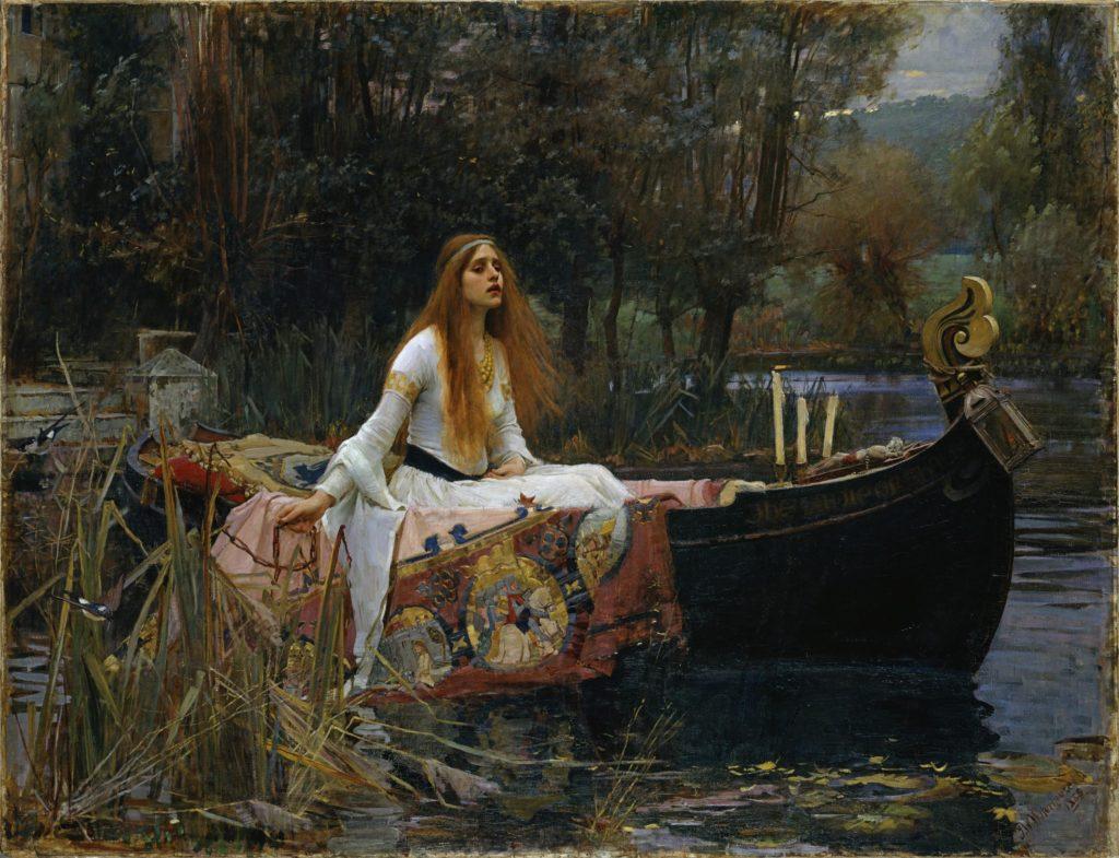 15_John William Waterhouse, The Lady of Shalott, 1888