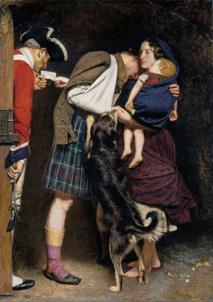 5_John Everet Millais, The Order of Release, 1852-53