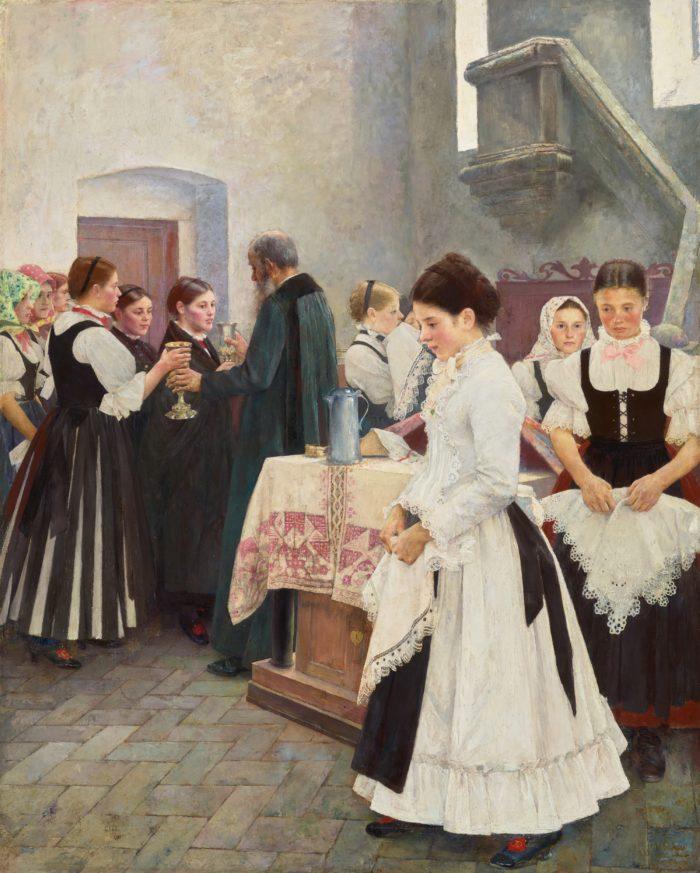 Csók István: Ezt cselekedjétek az én emlékezetemre, 1890