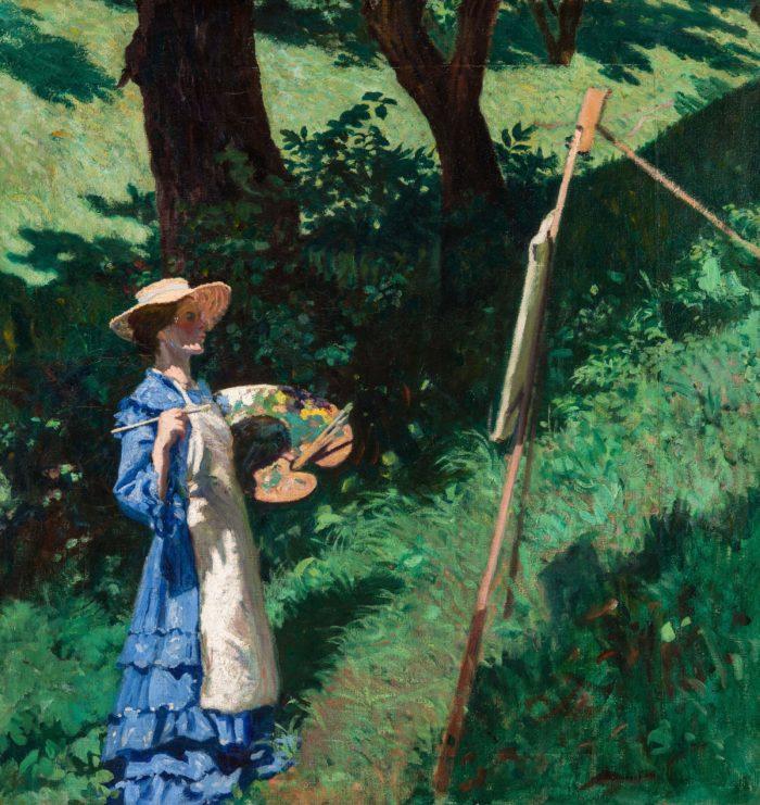Ferenczy Károly: Festőnő, 1903