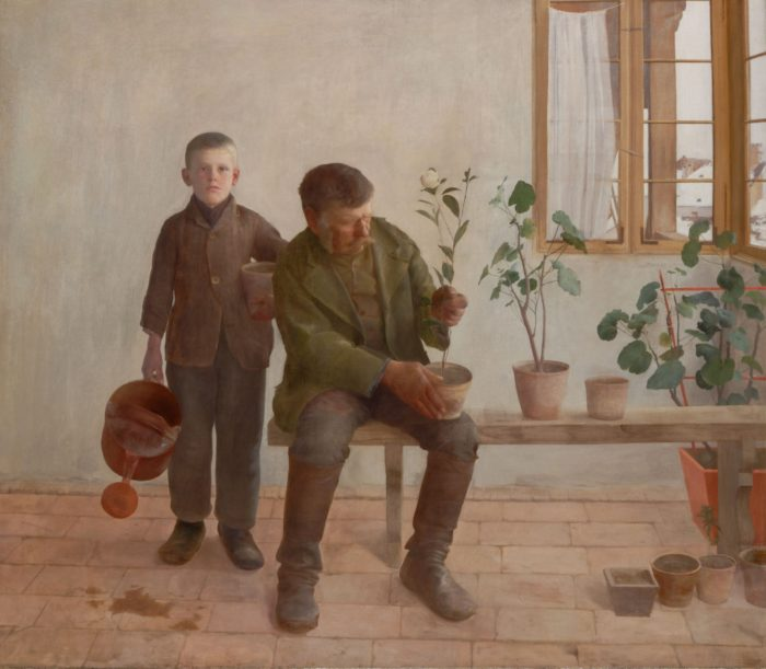 Ferenczy Károly: Kertészek, 1891