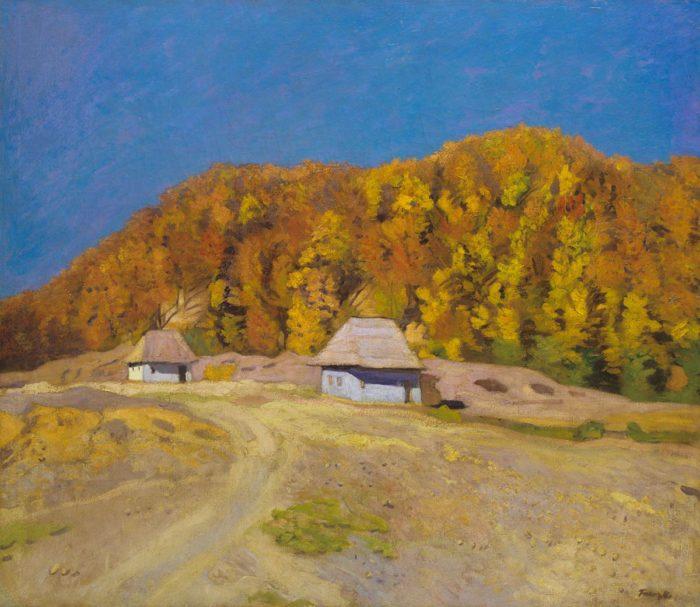 Ferenczy Károly: Bükkös (Őszi napsütés), 1908